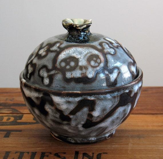 Skull Sugar Bowl