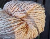 CHUNKY Weight Yarn - Sunshine (#19) - Pima Cotton - Queensland Pima Fresca - 100g skein - pale neutral yellow