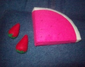 Felt Watermelon Slice