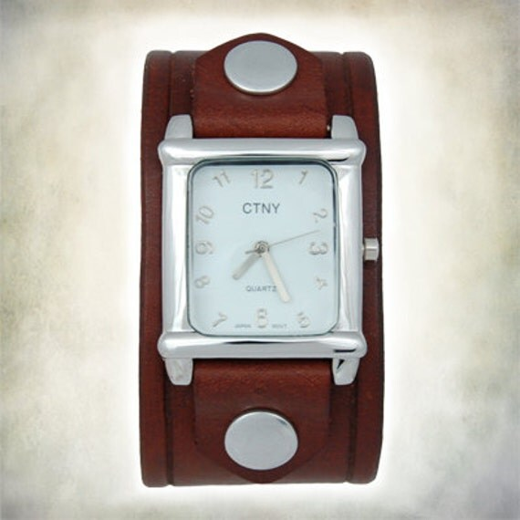 Women's Handcrafted Leather Watch