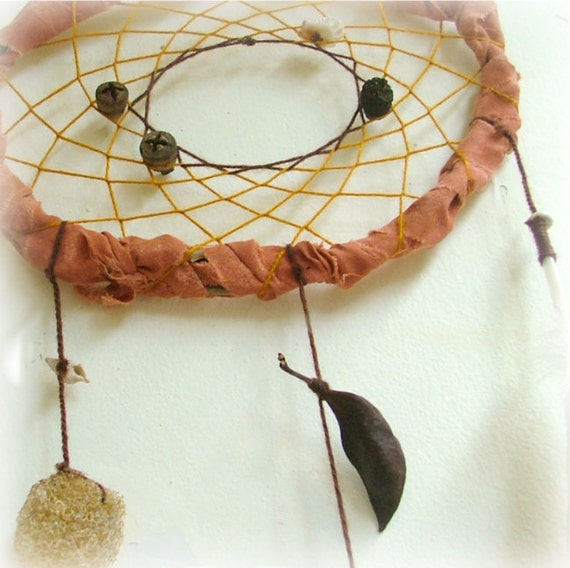 Baby mobile guardian angel - natural dreamcatcher with many surprises,,,