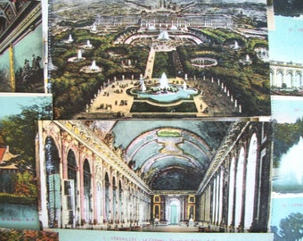 Antique French Postcards from Versailles