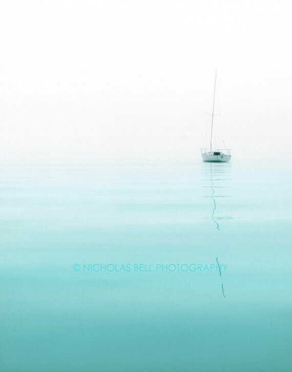 Photography / nautical / sailboat photography / minimalist / beach house decor / Nautical No. 1