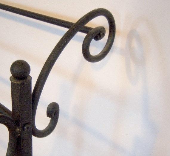 Black Iron Quilt Rack