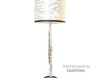 Flute Lamp & Sheet Music Lamp Shade