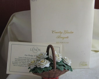 Camellias Country Garden Bouquets by Lenox