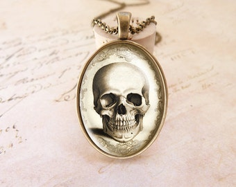 Skull - Vintage Necklace