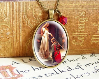 Knighthood - Vintage Necklace