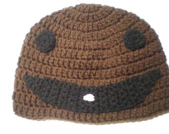 ADULT Crochet Sack Boy Hat - Item CBJ123SB