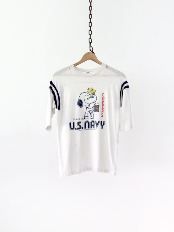 Vintage Snoopy T-Shirt / US Navy Tee