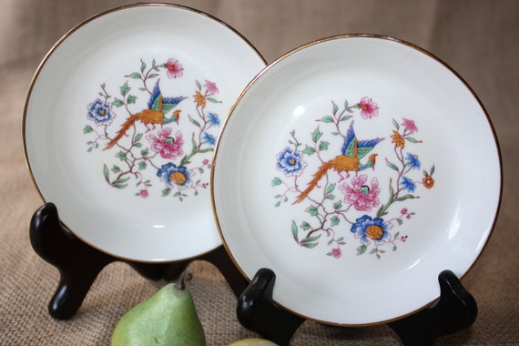 Hammersley Bowls Bird of Paradise Collection England