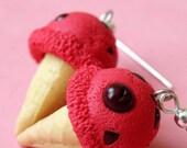 Earrings - Cherry Ice-creams