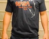 Vintage NASA Tshirt, Dark Blue, Size XL