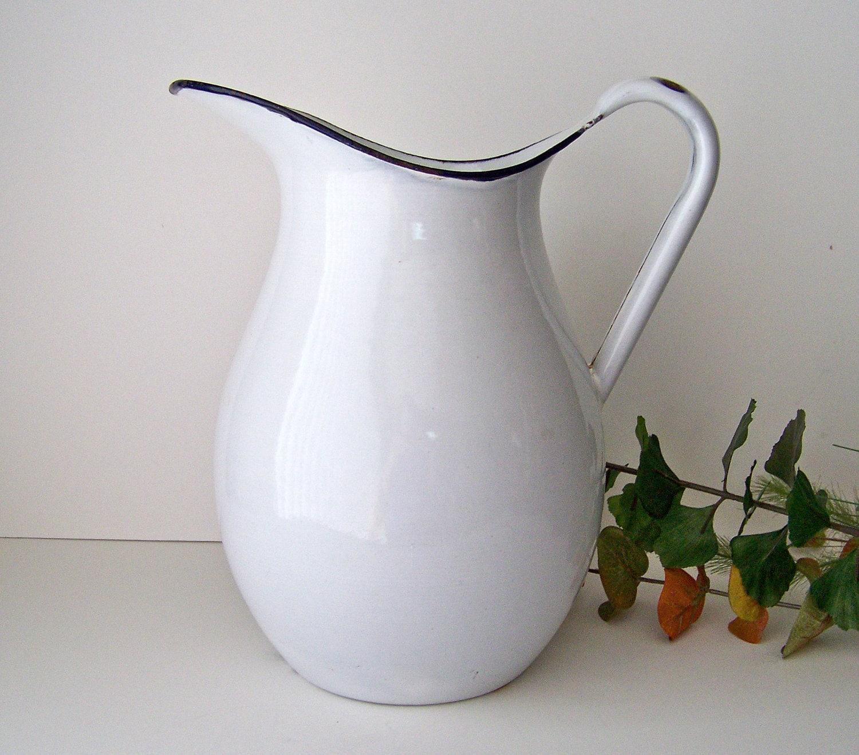 Vintage White Enamelware 86
