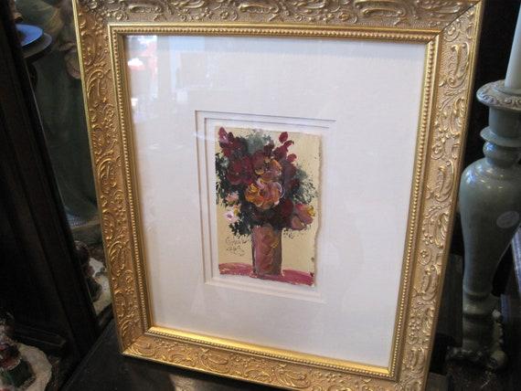 Original Painting By Anna Sandhu Ray Mrs James Earl Ray