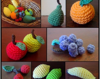 PDF PATTERN - Wee Fruit Collection