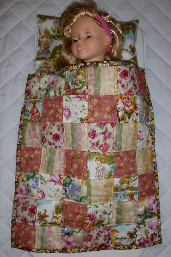 Eighteen inch doll quilt