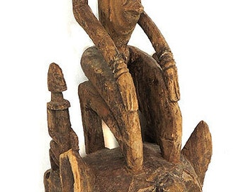 Dogon Satimbe Mask- Mother/Children Mali African Collection 73993
