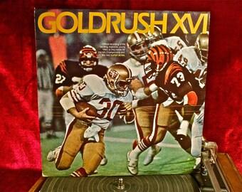 GOLDRUSH XVI - 1982 Vintage Vinyl Record Album