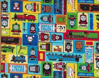 Thomas the train fat quarter FQ