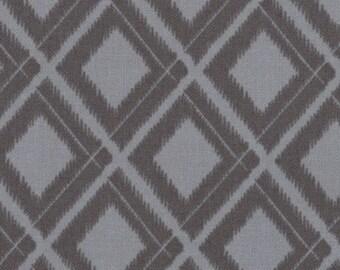 Simply Color Graphite Grey Ikat Diamonds 10806 - 13