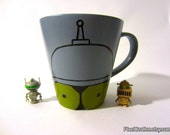 Bite My Shiny Ceramic ... Mug - Futurama Bender Mug