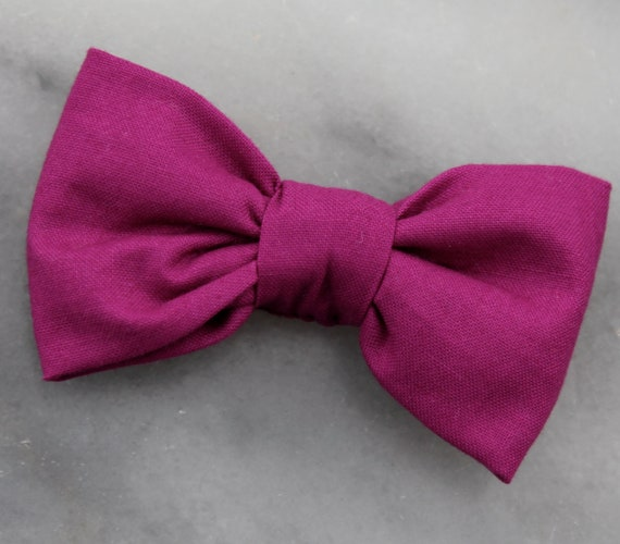 Bow tie in jewel - clip on, pre-tied with strap or self tying - wedding accessories, ring bearer attire