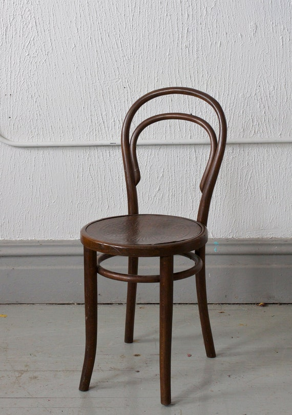 Antique Mundus Thonet Bentwood Cafe Parlor Side Chair With