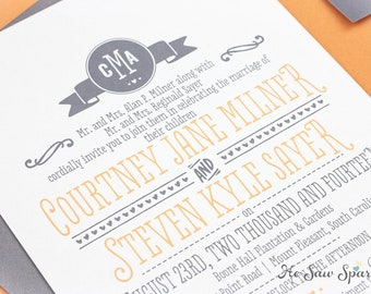 Printable Wedding Invitation - The Ready For Fun Collection
