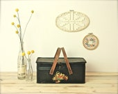 vintage bread box lunch box