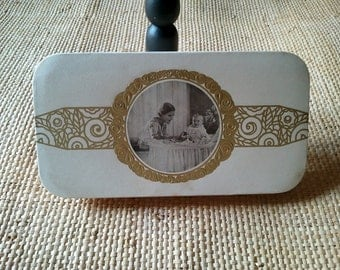 Antique French Art Deco sweets favors box