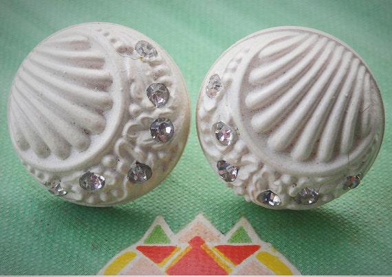 Vintage Earrings 1940s Reduced Price