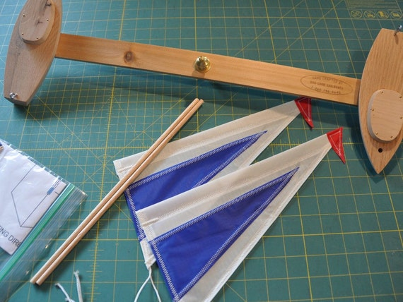 Almost Finished Sailboat Whirly-gig