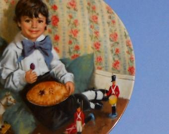 Little Jack Horner - Collector Plate
