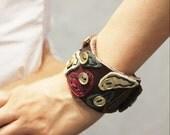 Vintage Style Leather Bracelet Type II