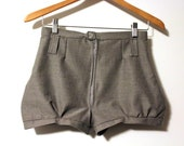 RESERVED Custom Order - High Waisted Resort Shorts