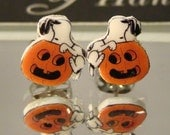 Snoopy Halloween Stud Earrings