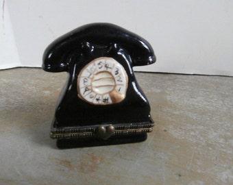 Telephone Trinket Box