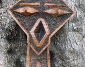 MAX hand carved olive wood sculpture