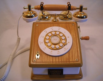 Vintage Collector Phone/Thomas Collector's Edition Touch Tone Phone/Vintage Telephone/Push Button Phone