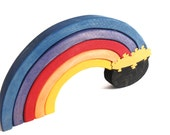 Rainbow Wooden Puzzle with Pot of Gold
