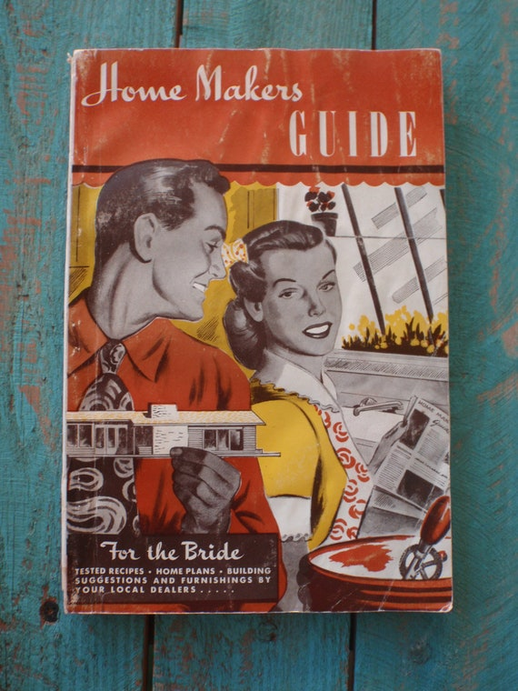 Vintage Home Makers Guide for the Bride 1949