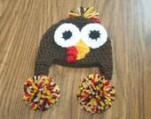 Turkey Hat Crochet