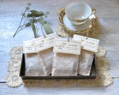 Tea Sampler • Handmade Individual Tea Bags (6, 12, 18 or 24) You Choose the Flavors • Tea-rrific Party Favor