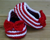 Baby Knitted Baby Slippers with Bowtie Baby Shoes