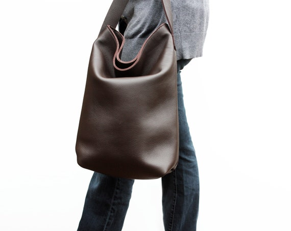 Custom Brown Leather Bag