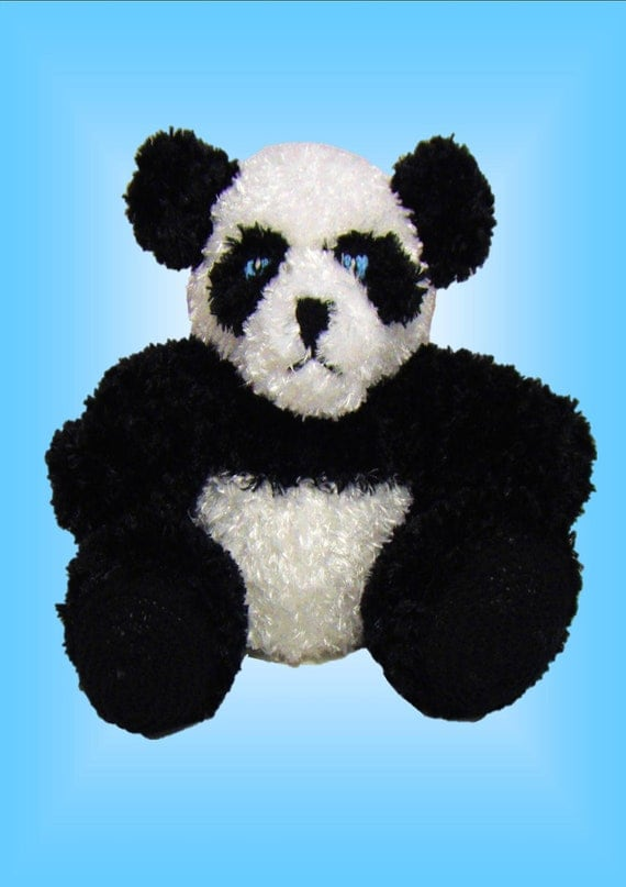 Andy Panda Original Toy Knitting pattern
