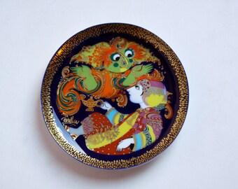 Vintage Wall Plate Aladdin Serie (1) - Bjørn Wiinblad for Rosenthal
