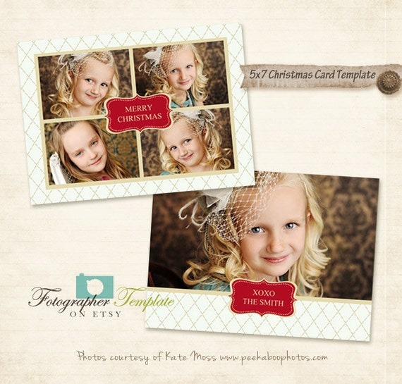 5x7 christmas holidays card templates for photographers am01 for 5x7 postcard mailing template
