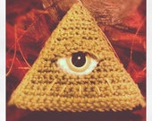 All Seeing Eye - Eye of Providence - Illuminati Amigurumi Pyramid